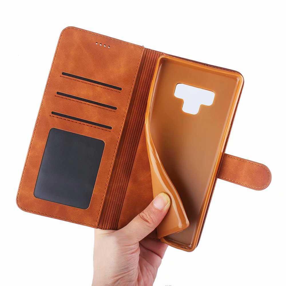 Кожаный чехол-книжка с подставкой для Samsung Samsun Galaxy Note 9 8 Note8, S9 S8 S 9 Plus
